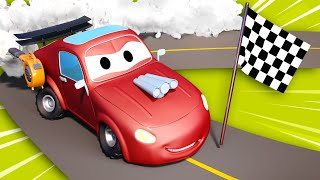 Video Tom the Tow Truck -  Jerry wants to be a dragster racing car - Car City ! Trucks Cartoon for kids MP3, 3GP, MP4, WEBM, AVI, FLV September 2018