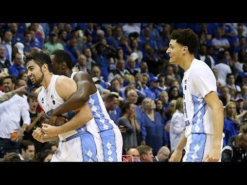 Kentucky vs. North Carolina: Game Highlights (видео)