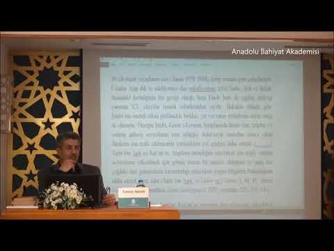 """Tuncer NAMLI ile """"Tahir bin Aşur"""" konulu Seminer"""