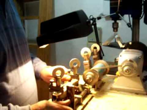 MAQUINAS PARA COPIAR LLAVES - Maquina para duplicar llaves doble paleta y yale hecha con motor de amoladora de banco y materiales caseros+.