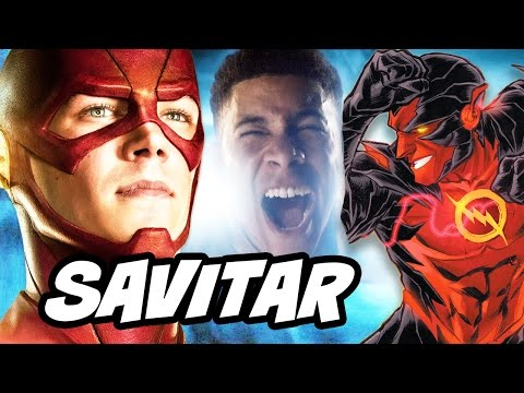 The Flash Who Is Savitar Theory Explained And Man Of Steel 2