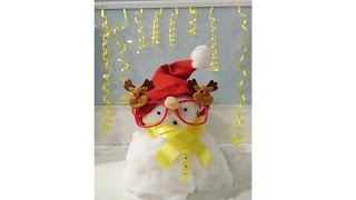 How to create snowman in a simple way Corporate Style..................
