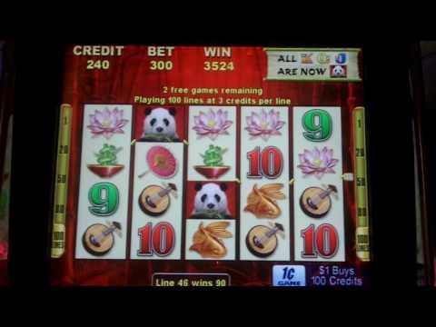 Wild Panda Slot Bonus - Aristocrat