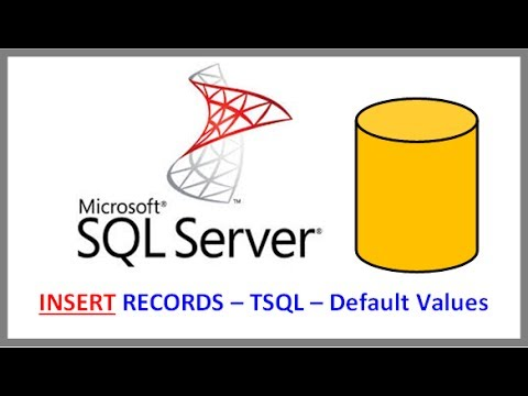 how to provide default value in sql