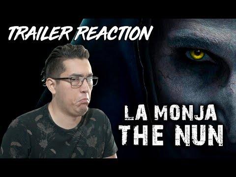 TRAILER REACTION | THE NUN - LA MONJA