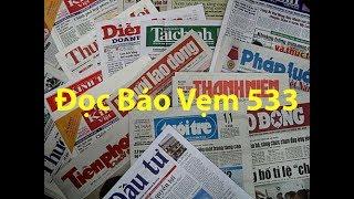 Doc Bao Vem 533 của Quê Hương Media được phát trên đài truyền hình quê hương california. Đọc báo vẹm 533 do Hoàng Tuấn và Nguyên Khôi thực hiện doc bao vem 533https://www.facebook.com/TheDocBaoVem