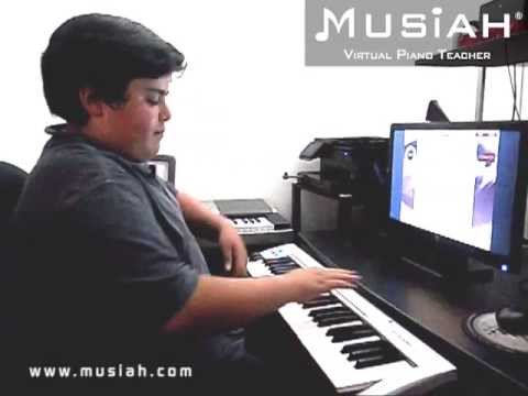 Piano Video: Online Piano Lesson #130 The Spy Who Practiced played by Michael