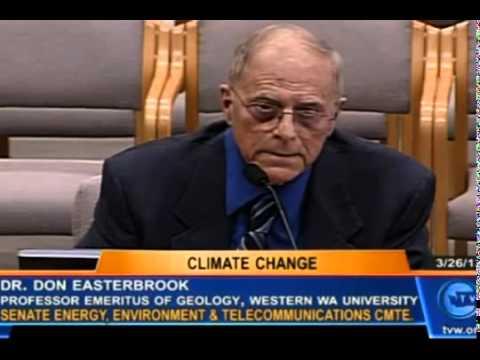 Dr. Don Easterbrook Exposes Debunks Global Warming