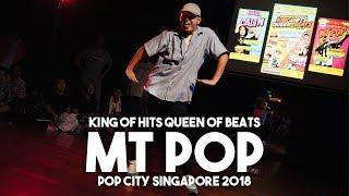 MT Pop – King of Hits Queen of Beats (Pop x Waack City Singapore 2018) Judge Showcase