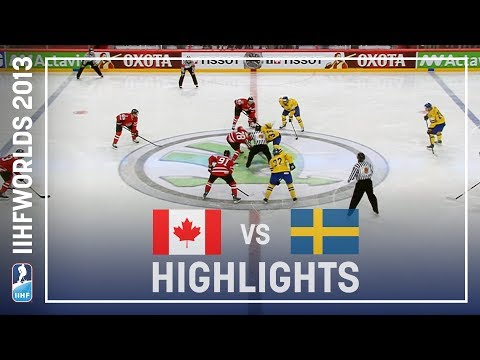 Canada - Fredrik Pettersson scored the winning goal of the shootout to give Sweden a 3-2 win over Canada and the final place in the semi-final against Finland.