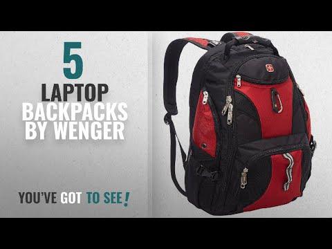 Top 10 Wenger Laptop Backpacks [2018]: SwissGear Travel Gear ScanSmart Backpack