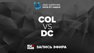 coL vs DC, Dota PIT League, game 2 [Lum1Sit]