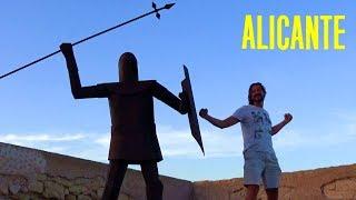 Красивая древность - замок Аликанте в 4K, Испания