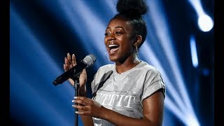 Video Rai-elle: The Young 16y-old Takes On a BIG Song For The 6 Chair Challenge | The X Factor UK 2017 MP3, 3GP, MP4, WEBM, AVI, FLV Juni 2019
