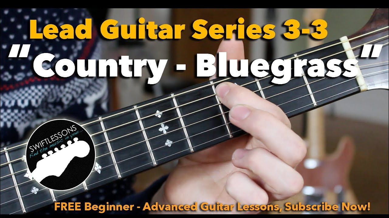 Advanced Country Bluegrass Licks- Guitar Lesson – Session #3-3