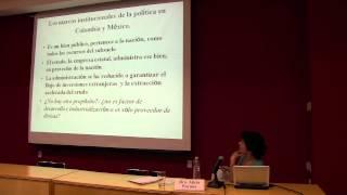 La Economía Política Del Petroleo Colombiano. Un Paralelo Con México