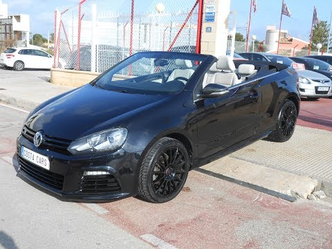 See video Volkswagen GOLF VI TSI CABRIO