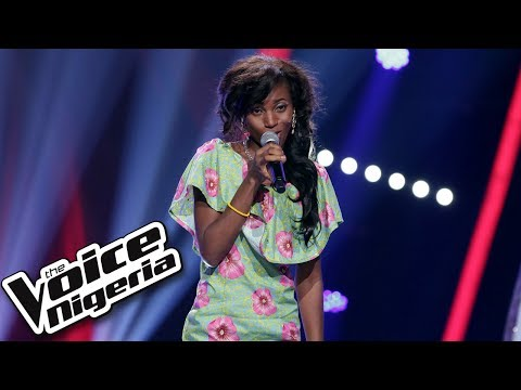"""Ese Urinrin sings """"Big Girls Don't Cry"""" / Blind Auditions / The Voice Nigeria Season 2"""