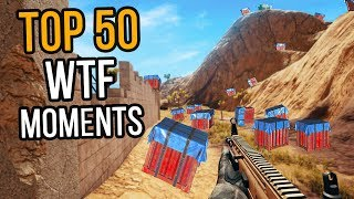 TOP 50 WTF MOMENTS IN PUBG (Part 1)