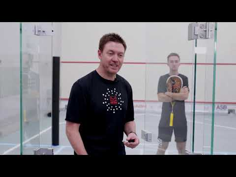 Squash tips: Pressure drills with Shaun Moxham - Volley drop counter to length drill