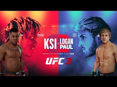 KSI vs Logan Paul 2 Boxing Match | Boxing Only UFC 3