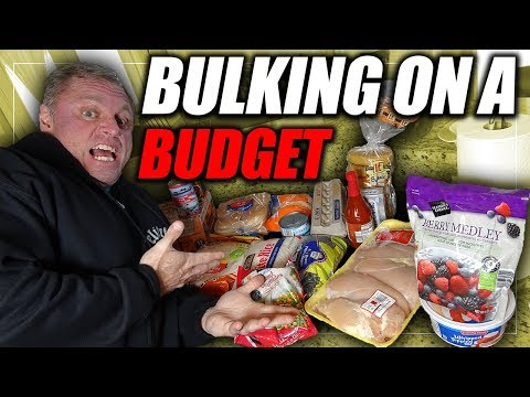 Bulking On A Budget | Full Day Of Eating 4,000+ Calories