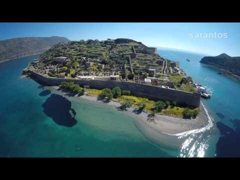 Η Σπιναλόγκα μέσα από ένα μαγευτικό εναέριο βίντεο