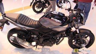 1. 2018 Suzuki SV650 X  Walkaround  2017 EICMA Milan Motorcycle Exhibition