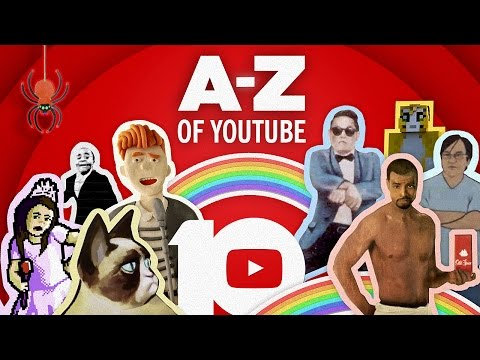 The AZ of YouTube Celebrating 10 Years of