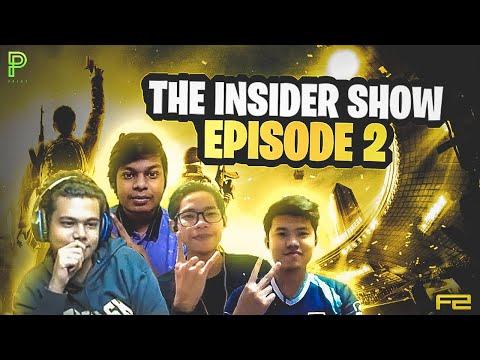 The Insider Show: EP 2; ft. Machine, Kapshi, Badrev, Evileye and Timeburner