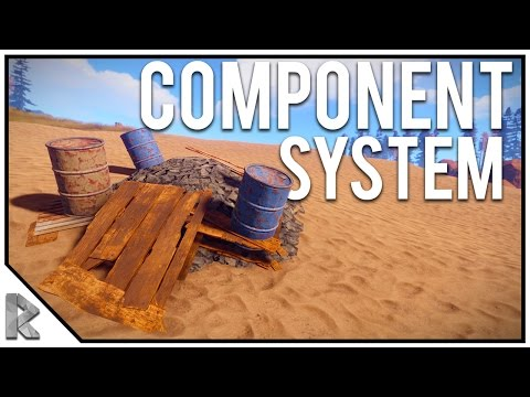 NEW Component System UPDATE! Recycler, Components, Radiation - Rust Survival with Friends #48 (видео)