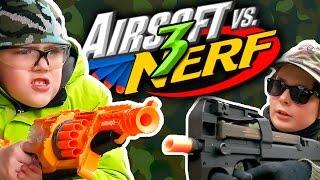 Airsoft vs Nerf 3
