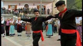 Volkstanz Auf Der Griechischen Insel Korfu 2005