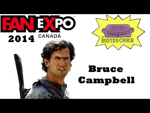 bruce_campbell - Did you miss the Bruce Campbell Q&A? Well here's your chance to see it! Also, Ted Raimi was there too! Enjoy the shenanigans! Please pardon some of the audio...