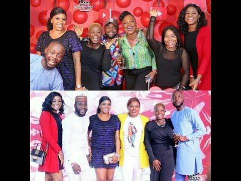 Ini Edo,Adunni Ade,Toke Makinwa,Omoni Oboli, Celebs At Premiere Of Aiyetoro Town By Funke Akindele
