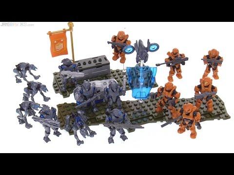 Mega Bloks Halo Promethean Strike review