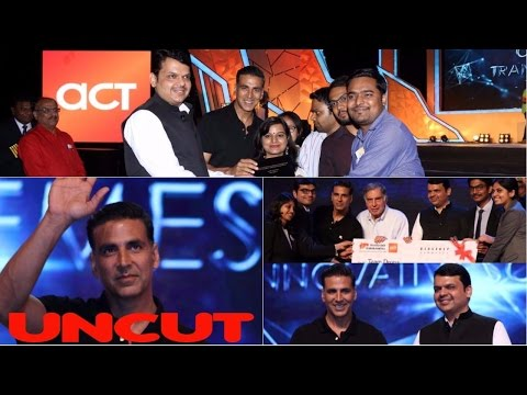 UNCUT: Akshay Kumar At TRANSFORM MAHARASTRA Innovation Exhibition