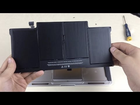""", title : 'How to replace MacBook Air 13""""  Battery (Mid 2012)'"""