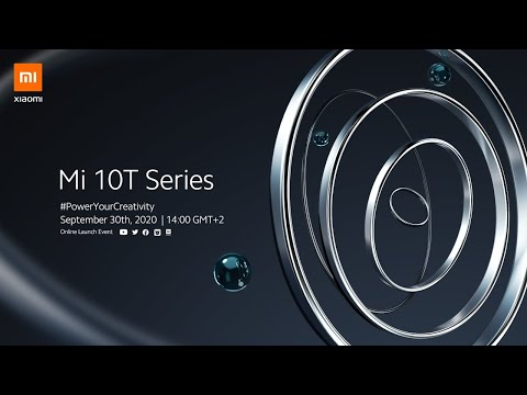 Mi 10T Series Online Launch Event