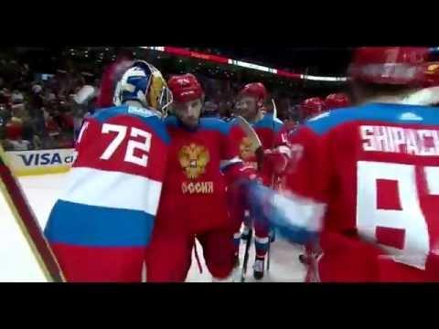 Матч просто Бомба.Россия-Финляндия 3-0.Кубок мира по хоккею 2016 (видео)