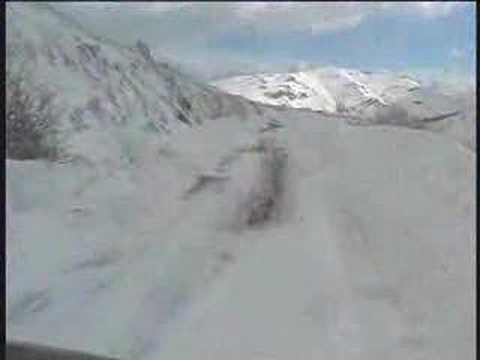 Schnee auf Sardinien / Snow in Sardinia: Barbagia