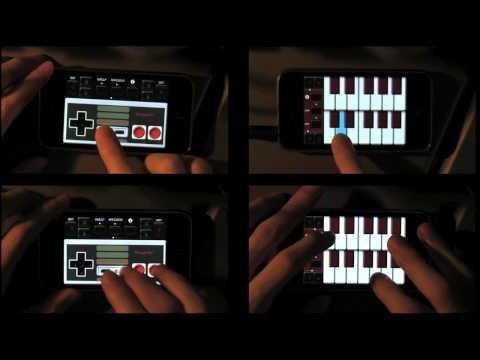「[音楽]8ビット音源(ファミコン音源)アプリを使った、四重奏ミュージックがアツい。」のイメージ