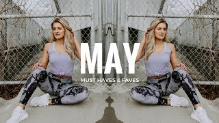 "My May favorites 2017! Fitness, beauty and more must have items from this month. LINKS ARE BELOW xo Follow yo girl for... Daily Fit Tips With Whit:♡ Instagram https://www.instagram.com/whitneyysimmons/?hl=en♡ Snapchat: whitneyysimmons♡ Twitter: https://twitter.com/whitneyysimmons?lang=enTop: Cleo Harper——————————————————————————Commonly Asked Q's:Bedspread: Home GoodsOcean Blanket: Society 6My necklace: http://rstyle.me/~a1jUaMy Watch: Apple WatchResistance Bands: http://amzn.to/2a66gzLWireless Headphones I use: http://amzn.to/2if2mNyCamera I use: http://amzn.to/2gBHBZMVlogging Camera I use (and in the gym): http://amzn.to/2jxrTgW——————————————————————————May 2017 favorites:♡ Wunderbrow brow gel in brunette: http://amzn.to/2qF5FO3♡ L'Oreal Lash Paradise ♡ Living Proof Full Dry Volume Blast♡ PEScience Prolific: http://amzn.to/2sigzdLFigured out PESCIENCE STANDS FOR PHYSIQUE ENHANCING SCIENCE lolz♡ PEScience High Volume (no caffeine): http://amzn.to/2silPON ♡ Optibac Probiotic (they also have the 7 day packet option but you get more for your buck here...) http://amzn.to/2qFaPtn♡ Adidas Ultraboost  these are the ""Uncaged"" version♡ Oh Yeah! Maple Glazed Doughnut http://amzn.to/2ruzioqThis video is NOT sponsored."