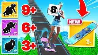 SCORECARD Hoverboard SHOWDOWN in Fortnite Battle Royale