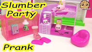 Video Slumber Party Pillow Prank Play Video of Shopkins Season 5 Exclusives , Cookieswirlc MP3, 3GP, MP4, WEBM, AVI, FLV Oktober 2018