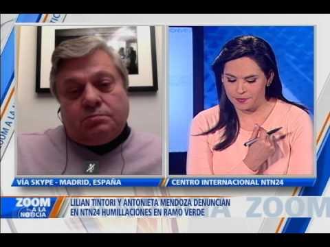 [VIDEO] Leopoldo López Gil, padre del Lider Opositor Venezolano expresa su indignación ante el abuso perpretrado a su nuegra y su esposa