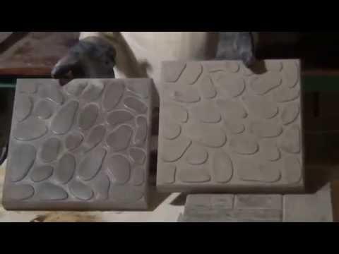 Как изготовить тротуарную плитку самостоятельно