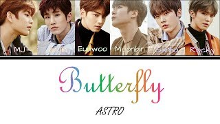 Download Lagu ASTRO - Butterfly (Color Coded Lyrics Han|Rom|Eng) Mp3