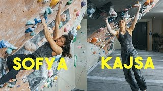 THE DREAM COMBO - SOFYA AND KAJSA - CLIMBING STUDY - CLIMBING TECHNIQUE by Eric Karlsson Bouldering