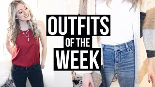Outfits of the week for April! Products Mentioned:Patchwork Cardigan: http://bit.ly/2lEaFmB Tweed Boyfriend Blazer: http://bit.ly/2kXvGEI ♡ LET'S BE FRIENDS ♡TWITTER: http://www.twitter.com/ShawnaPatersonINSTAGRAM: https://www.instagram.com/shawnapaterson/?hl=enIf you are a company interested in working with me feel free to contact me via my business email: sweet.taart@yahoo.ca